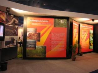 Prize winning Tata Steel Exhibit at MMM, Kolkata