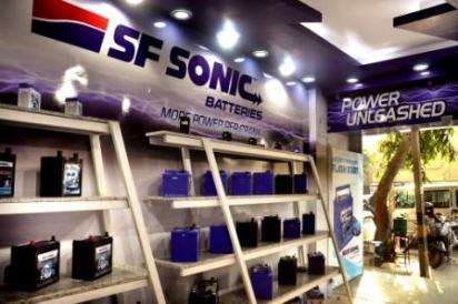 SF SONIC automotive batteries - Franchise Outlet